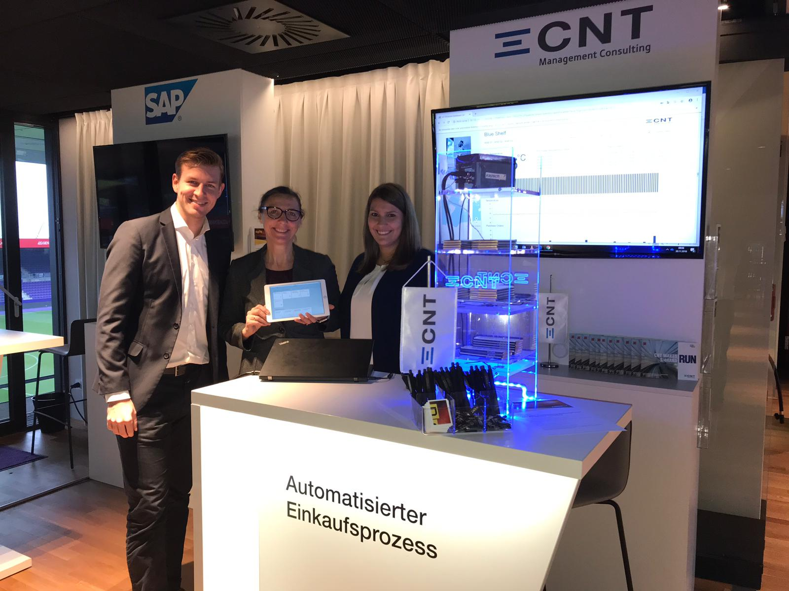 CNT bei der KAPSCH DEX 2018 am 20. November in der Generali Arena