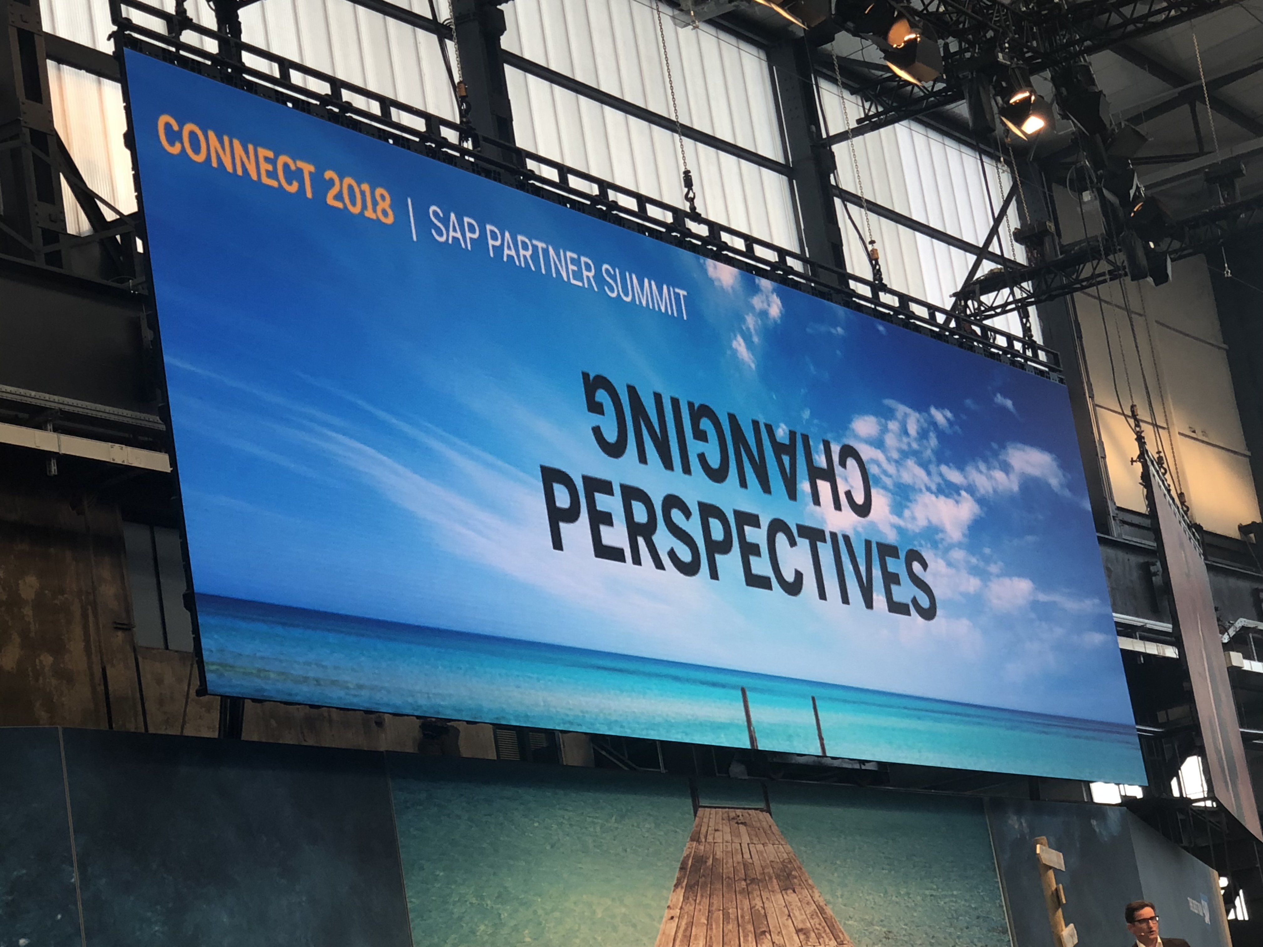 CNT @ SAP Connect 2018 in Düsseldorf